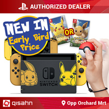 [Pre-Order]Nintendo Switch Console System Bundle /w Pokemon Lets Go // 16 Nov Launch // Local Set