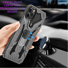 Magnetic Ring Case iPhone 11 12 Pro Max XR XS Max X 7 8 Plus SE Stand Holder Cover