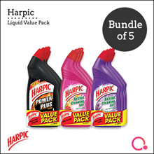 [RB]【Buy 2 FREE 3】Harpic liquid x 15 - Toilet cleaner | New stocks only available on 19th Oct!