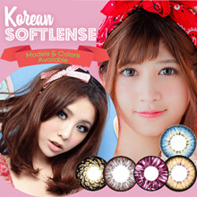 Softlens Baby Color Puffy 3Tones - Candy Rainbow - Summer Doll - Angel Series - Super Yogurt *Minus Tinggi Super Nyaman dg Kadar Air Tinggi*