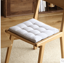 Simple chair cushions thick bamboo mats mats Japanese striped dining table cushions chair cushions