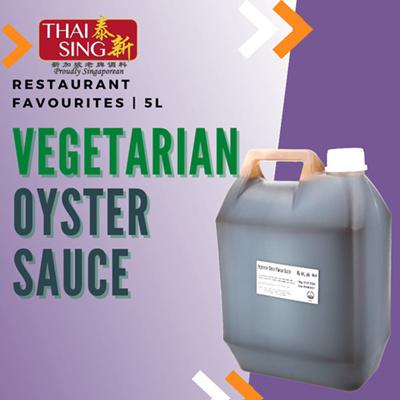 VEGETARIAN Oyster Sauce - 5L