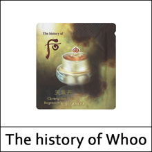 [The History Of Whoo] Cheongidan Radiant Regenerating Eye Cream 1ml*10ea(Total 10ml) / Hwahyun