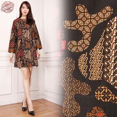Midi Dress Rihana Batik Tunic