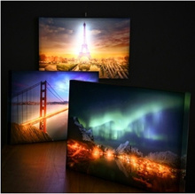 LED Painting Lighting Canvas Wall Art The Picture For Home Decoration Print On Canvas Artwork