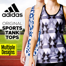 [ADIDAS] Authentic Sports Tank Top   | Original | Multiple Designs |