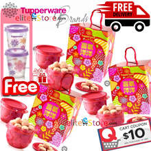 FREE Midget + FREE DELIVERY Tupperware Cookies CNY 2018 Chinese New Year Gift
