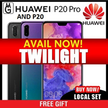 Huawei P20 Pro Smartphone / Local Set with 2 Years Warranty. Twilight available now
