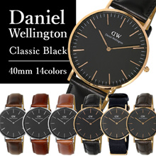 100% Authentic ★CLASSIC BLACK★Daniel Wellington watch★40mm/36mm