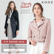 KODZ - 9.9 GRAND SALE! Trendy Jackets/Coats/Women/Girl/Ladies Multi Color/Style - Free Shipping