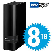 WD easystore 8TB/10TB External USB 3.0 Hard Drive Black