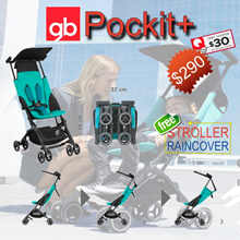 GB Pockit+ Plus 2017 Recline: The Worlds Smallest and Lightest Baby Stroller | FREE DELIVERY