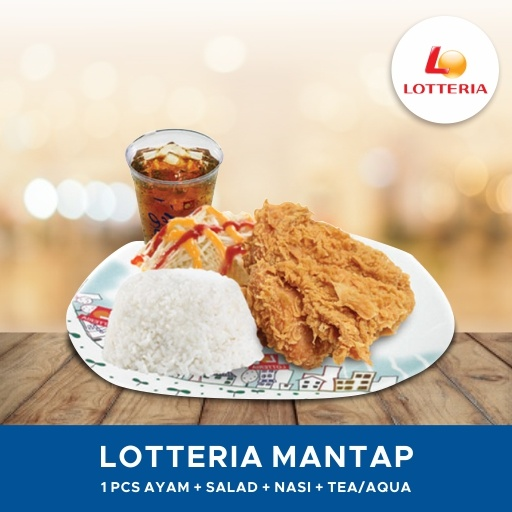 [FAST FOOD] Lotteria Mantap Deals for only Rp24.000 instead of Rp24.000