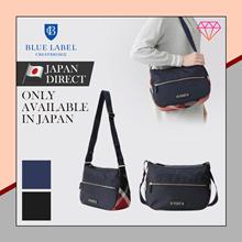 (Blue label crestbridge) Partial CREST BRIDGE CHECK nylon shoulder bag / NEW / 2020 / Japan direct