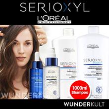 [Loreal] LOREAL PROFESSIONAL SERIOXYL SERIES HAIR LOSS / DENSER HAIR Shampoo 1000ml/ Conditioner