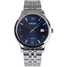 Seiko Quartz Analog 100m Blue Dial Male Casual Watch SUR219P1 SUR219P SUR219