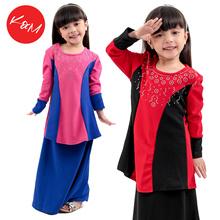 Kids Modern Baju Kurung // Baju Raya Budak Perempuan // Muslimah Set [M11419/MM11421]