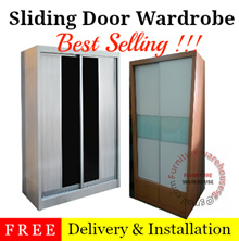 2 Door Sliding Wardrobe | Cabinet | Cupboard | Sliding Door Wardrobe | Furniture Warehouse