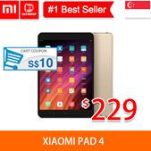 💖LOCAL SELLER💖 [Xiaomi Pad 4]Xiaomi Pad Mi Pad 4 3GB 64GB 8inch   - 1stshop Singapore - export set
