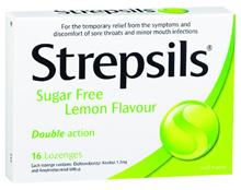 Strepsils Sugar Free Lozenges 16s