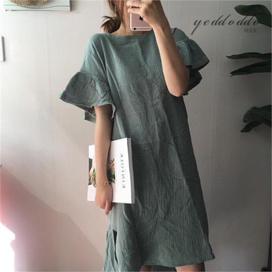 はいトト行き来するようにはいトトこのルートであること、ワンピース プリントのワンピース/ 韓国ファッション