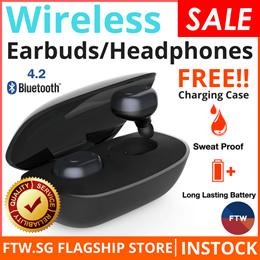 [$10 QOO10 COUPON!] Xiaomi Awei Baseus Airpods Earphone Earpiece Wireless Earbuds Bluetooth