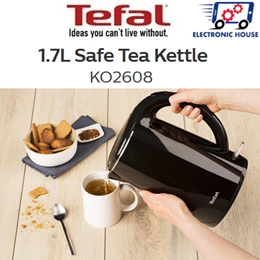 ★ Tefal KO2608 Kettle Safe Tea 1.7L ★ (2 Years Warranty)