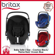Britax Baby-Safe-i-Size - Cosmos Black/ Flame Red/ Ocean Blue