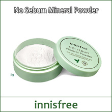 [INNISFREE] No Sebum Mineral Powder 5g / Sebum Control / Oil Paper Powder