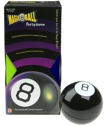 Qoo10 - MAGIC 8 Ball Party Game   Toys b4f4cd81d672