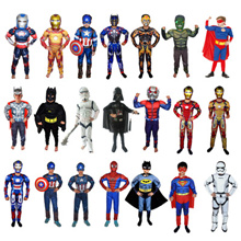 Halloween Costume for Kids/Superheros/Avengers Star Wars/Captain America/Iron Man/Optimus Prime/Sup