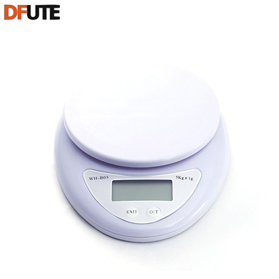 8fd6cc3f68f6 DFUTE Portable 5kg Digital Scale LCD Electronic Scales Steelyard Kitchen  Scales Postal Food Balance