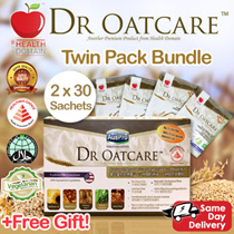 Bundle of 2! ❤ TWIN PACK Dr OatCare Super Health Drink - POPULAR DEMAND! FREE DELIVERY