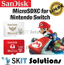 SanDisk microSDXC for Nintendo Switch 64GB 128GB Memory Card MicroSD Micro SD UHS-I U3