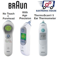 ★ Braun NTF3000 No Touch + Forehead   IRT3030   IRT6520   IRT6020 Ear Thermometer - Ready Stock