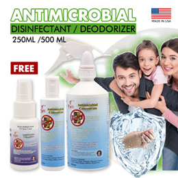 [Disinfectant/Deodorizer] Antimicrobial-From USA (Highly effective against viruses/bacteria)
