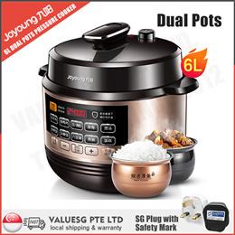 Midea/Philips Electric High Pressure Cooker/5L/6L Dual Pots/ Rice Cooker/SG Plug/SG Warranty