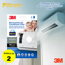 [Official E-Store] Bundle of 2! Filtrete™ Air Con Filters
