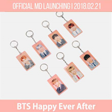 【BTS OFFICIAL】BTS HAPPY EVER AFTER / BTS LENTICULAR KEYRING/ BTS 4TH MUSTER FAN MEETING GOODS BANGTAN