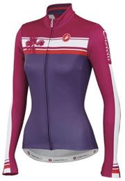 2014 Castelli Long Sleeve Lady Cycling Top (H89623E)
