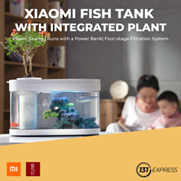 [New] Xiaomi Fish Tank with Integrated Plant