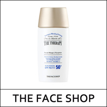 [THEFACESHOP] The Therapy Sunscreen Moisture Blending Formula 55ml