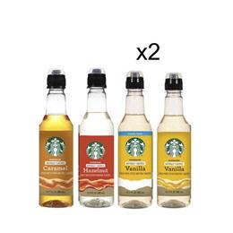[무료배송] 스타벅스 내츄럴 커피 시럽 4종중선택 354mlx2개