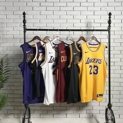 quality design 7bf35 9fddf NBA Jerseys Lakers LeBron James #23 City Basketball Jersey