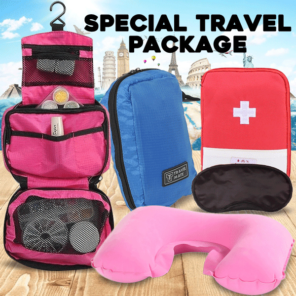 [ PAKET TRAVEL 3 in 1 ] Travel Mate Toiletries Deals for only Rp69.000 instead of Rp69.000
