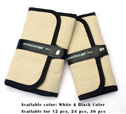 Potentate Pencil Wrap/ 12.24.36Pcs/ Pencil Holder/ Colored Pencils Case Roll