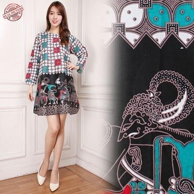 Midi Dress Daniela Tunik Batik
