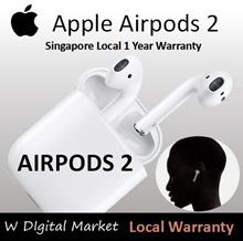 AirPods Gen 2/ Gen 2 Wireless **Local SG Apple 1 Year Warranty** Genuine Bluetooth Earphone