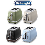 Delonghi Icona Vintage Color CTOV2003 Classic Toaster / Electric Toasters / 4Color / 100-year-old Italian Products