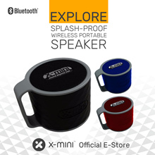 **Promotion**X-mini™ EXPLORE - Splash-Proof Wireless Portable Speaker
